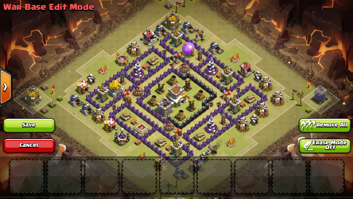 Town Hall 8 War Base