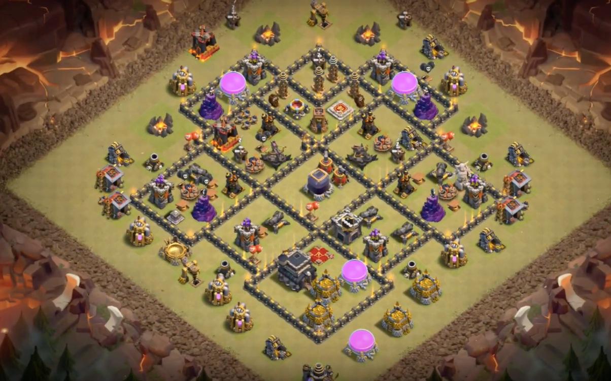 Town Hall 9 War Base