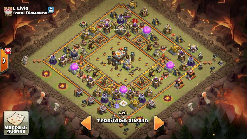 anti bowler war base th11