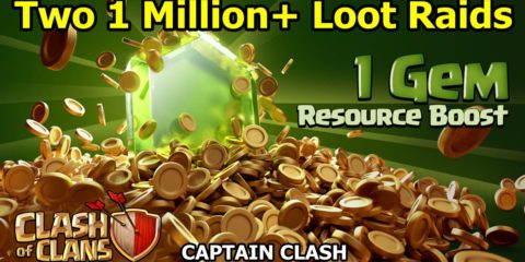 clash of clans 1 gem boost 2016