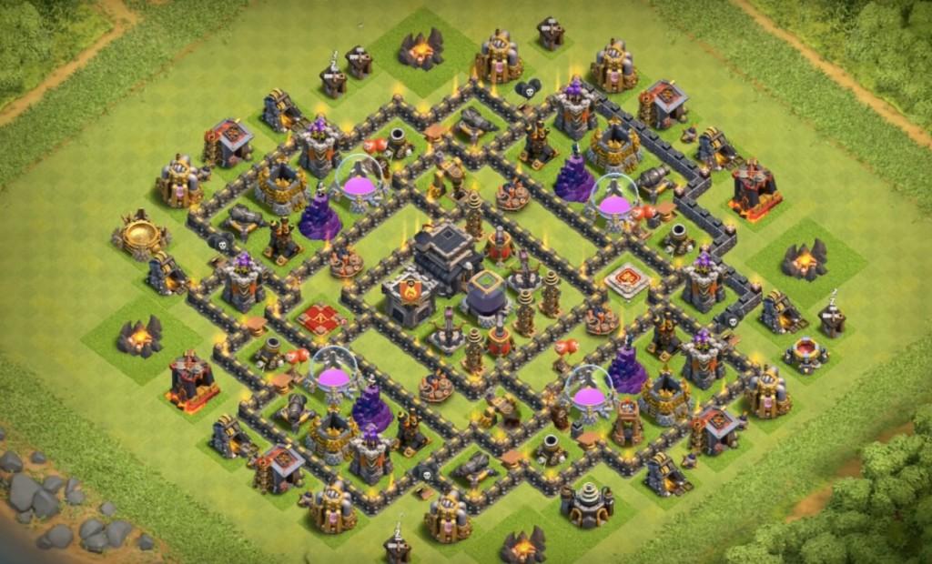 th9 farming base anti everything