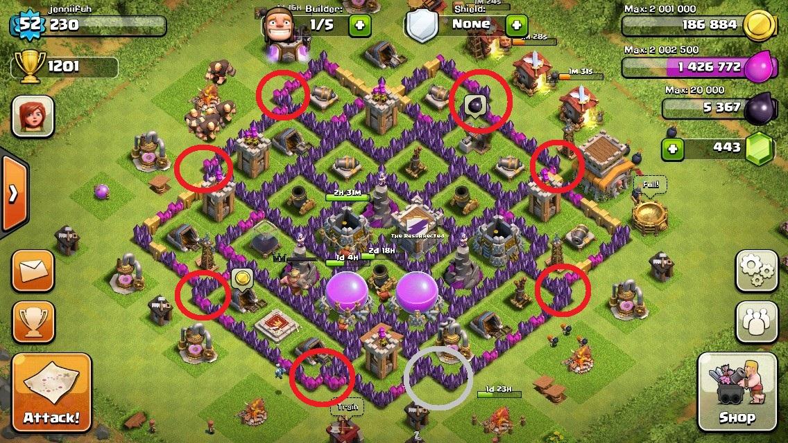 Base Designs Clash of Clans