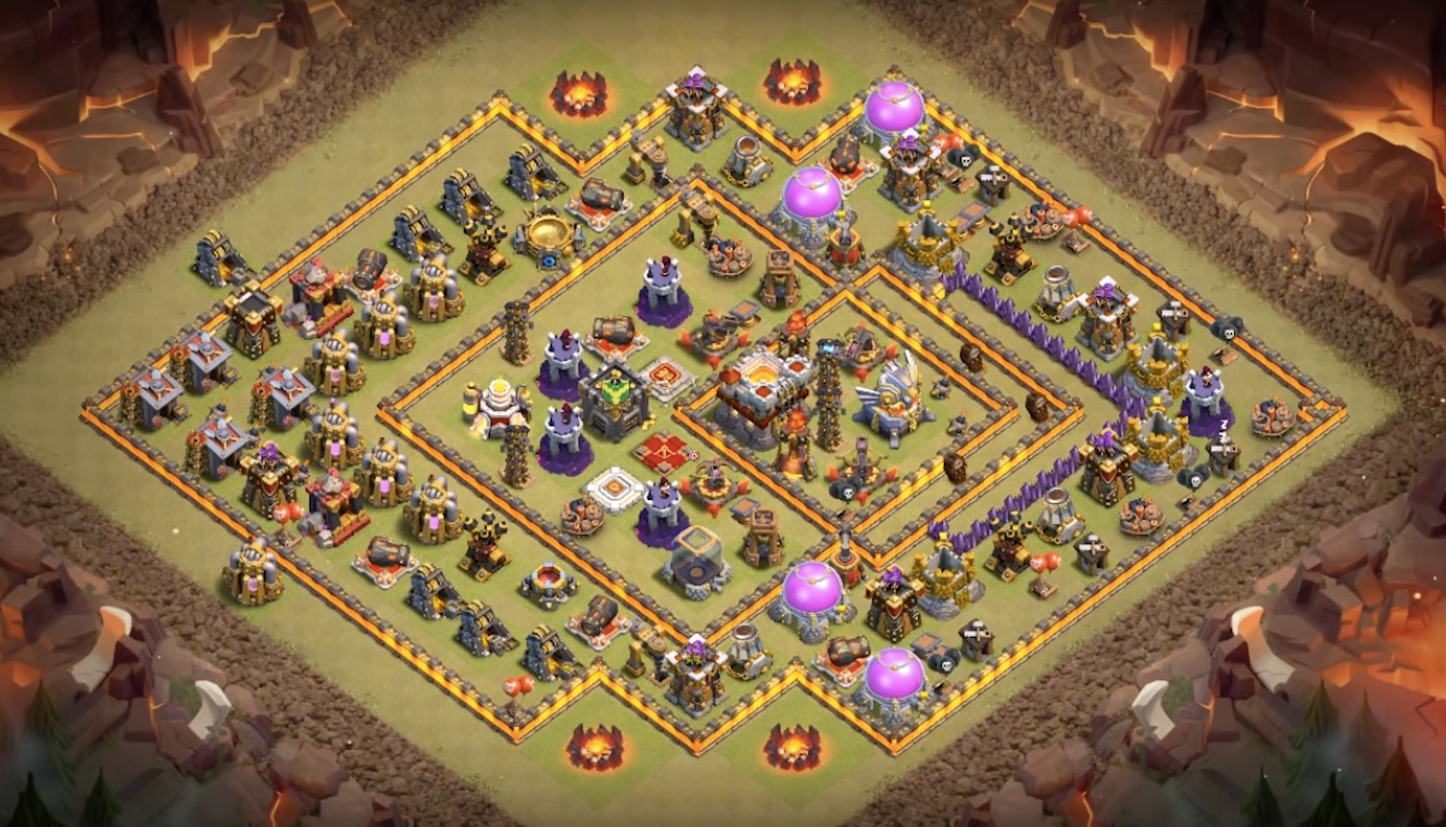 TH11 anti 3 star bombtower