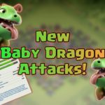 Clash of Clans Farming With Baby Dragon