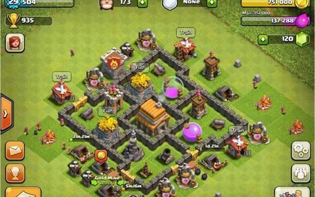 Clash of Clans Defense Strategy Town Hall 5