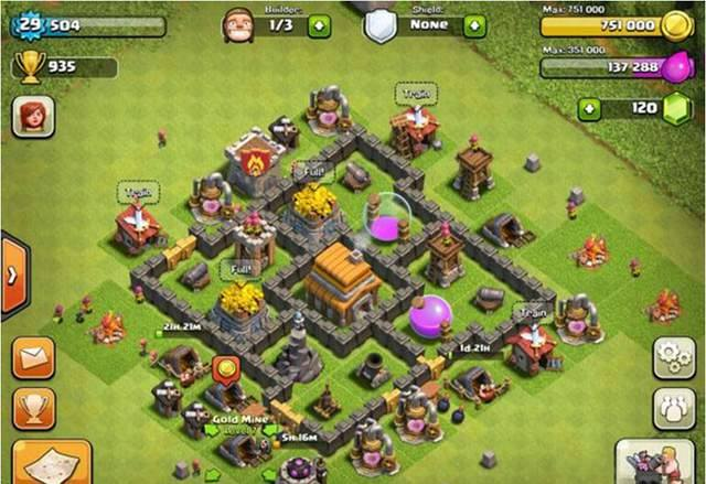 updated clash of clans mod apk