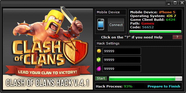 Clash of Clans Hack Direct Download Android