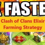 Best Clash of Clans Elixir Farming Strategy
