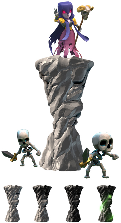 towers in clash of clans