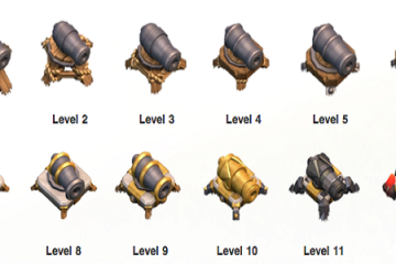Clash of Clans Weapon Upgrades