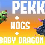 Pekka + Hogs COC Attacking and Defensive Strategies