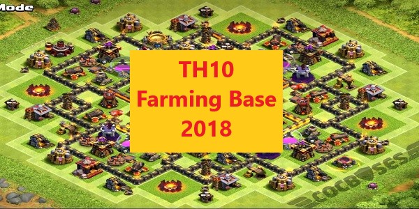 TH10 Farming Base 2018