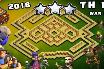 TH10 War Base 2018
