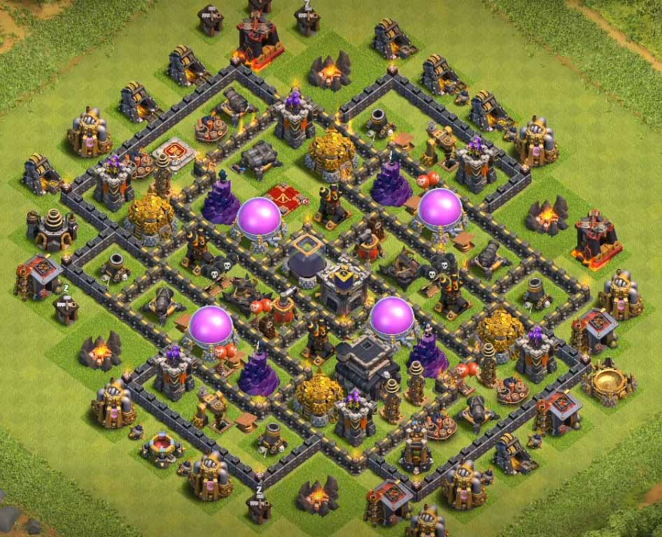 TH9 Anti-Everything Farming Base