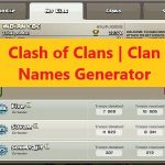 Clash of Clans | Clan Names Generator