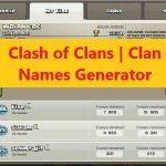 Clash of Clans | Clan Names Generator