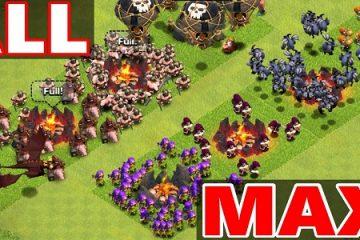 Clash of Clans Max Attack