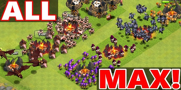 Clash of Clans Max Attack