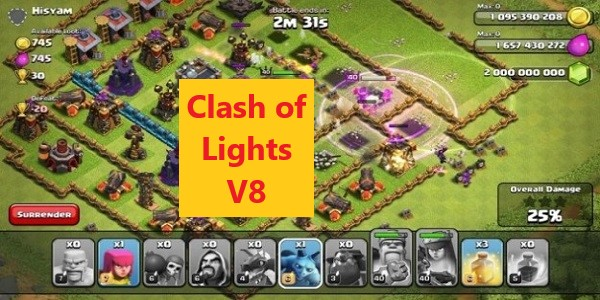 Clash of Lights V8