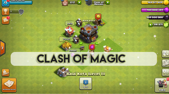 clash of magic server