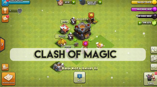 clash of magic server