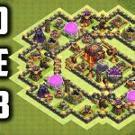 COC Builder Base TH10 2018
