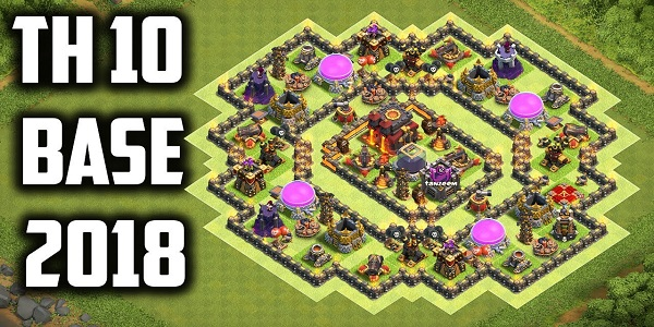 COC Builder Base TH10