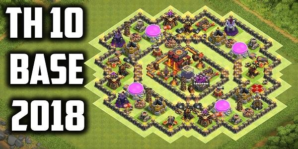 COC Builder Base TH10