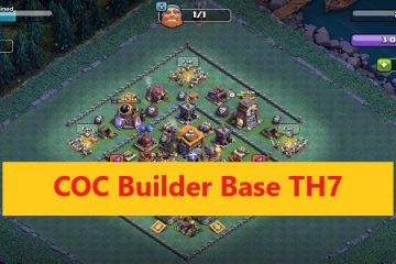 COC builder base TH7