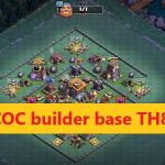 COC builder base TH8