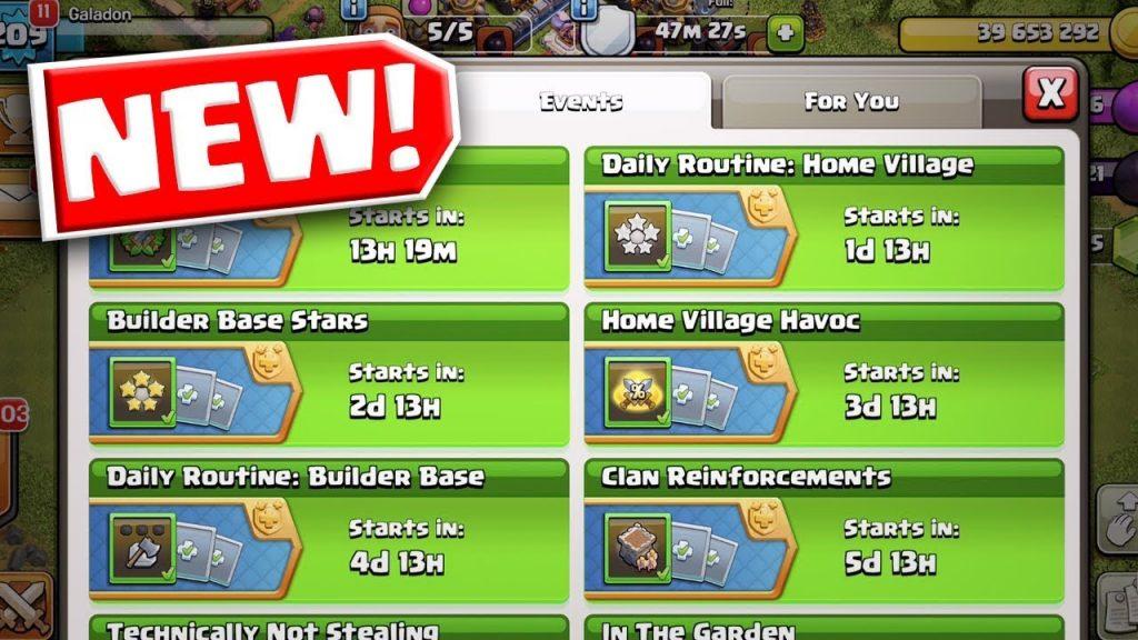 New Rewards coc