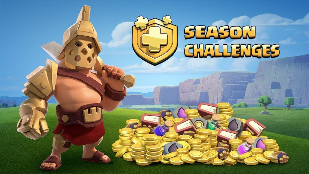 Clash of clan new challenges